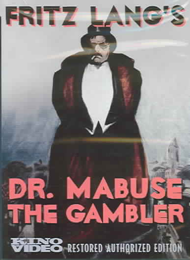 DR. MABUSE THE GAMBLER BY LANG,FRITZ (DVD)